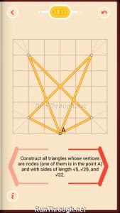 Pythagorea Walkthrough 13 Pythagorean-Theorem Level 11