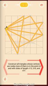 Pythagorea Walkthrough 13 Pythagorean-Theorem Level 12