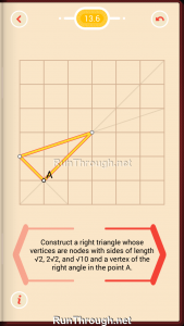 Pythagorea Walkthrough 13 Pythagorean-Theorem Level 6