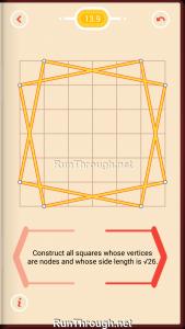 Pythagorea Walkthrough 13 Pythagorean-Theorem Level 9