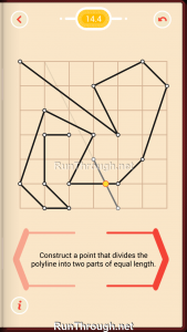 Pythagorea Walkthrough 14 Length-and-Proportions Level 4