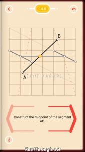 Pythagorea Walkthrough 14 Length-and-Proportions Level 8