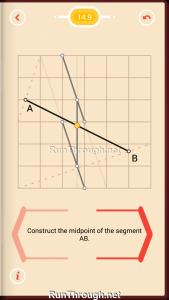 Pythagorea Walkthrough 14 Length-and-Proportions Level 9