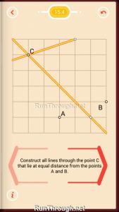 Pythagorea Walkthrough 15 Distance Level 4