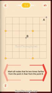 Pythagorea Walkthrough 15 Distance Level 6