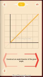 Pythagorea Walkthrough 16 Angle-Bisectors Level 1