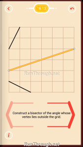 Pythagorea Walkthrough 16 Angle-Bisectors Level 13