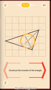 Pythagorea Walkthrough 16 Angle-Bisectors Level 14