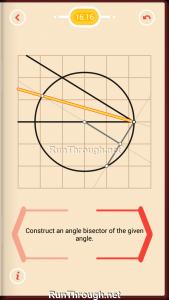 Pythagorea Walkthrough 16 Angle-Bisectors Level 16
