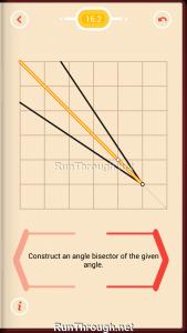 Pythagorea Walkthrough 16 Angle-Bisectors Level 2