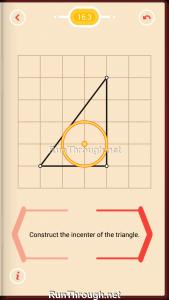 Pythagorea Walkthrough 16 Angle-Bisectors Level 3