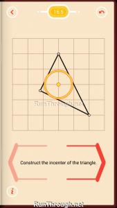 Pythagorea Walkthrough 16 Angle-Bisectors Level 5