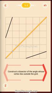Pythagorea Walkthrough 16 Angle-Bisectors Level 8