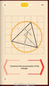Pythagorea Walkthrough 17 Perpendicular-Bisectors Level 10