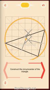 Pythagorea Walkthrough 17 Perpendicular-Bisectors Level 11