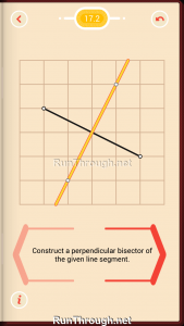 Pythagorea Walkthrough 17 Perpendicular-Bisectors Level 2