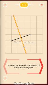 Pythagorea Walkthrough 17 Perpendicular-Bisectors Level 3