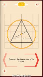 Pythagorea Walkthrough 17 Perpendicular-Bisectors Level 5