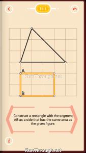 Pythagorea Walkthrough 18 Area Level 1
