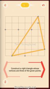 Pythagorea Walkthrough 19 Right-Triangles Level 11