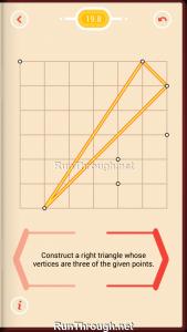 Pythagorea Walkthrough 19 Right-Triangles Level 8