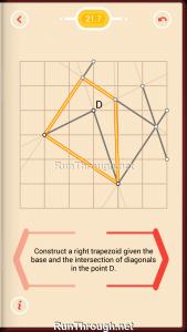 Pythagorea Walkthrough 21 Right-Trapezoids Level 7