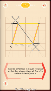 Pythagorea Walkthrough 22 Rhombuses Level 6