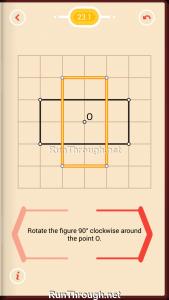 Pythagorea Walkthrough 23 Rotation Level 1