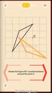 Pythagorea Walkthrough 23 Rotation Level 10