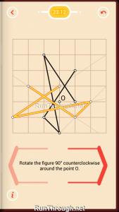 Pythagorea Walkthrough 23 Rotation Level 12
