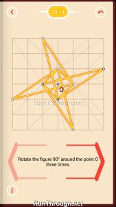 Pythagorea Walkthrough 23 Rotation Level 14
