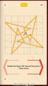 Pythagorea Walkthrough 23 Rotation Level 15