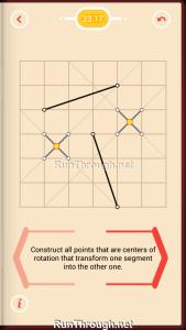 Pythagorea Walkthrough 23 Rotation Level 17