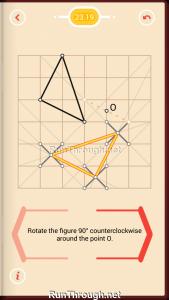 Pythagorea Walkthrough 23 Rotation Level 19