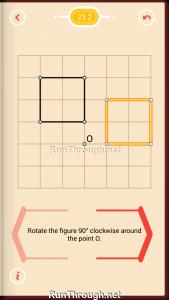 Pythagorea Walkthrough 23 Rotation Level 2