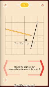 Pythagorea Walkthrough 23 Rotation Level 4