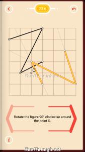 Pythagorea Walkthrough 23 Rotation Level 6