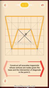 Pythagorea Walkthrough 8 Trapezoids Level 10