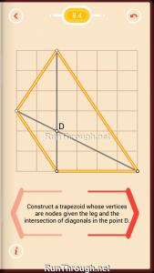 Pythagorea Walkthrough 8 Trapezoids Level 4
