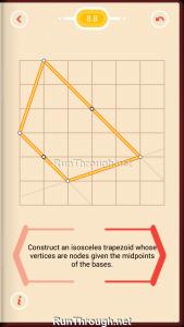 Pythagorea Walkthrough 8 Trapezoids Level 8