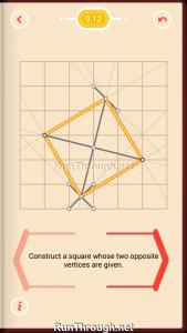 Pythagorea Walkthrough 9 Squares Level 12