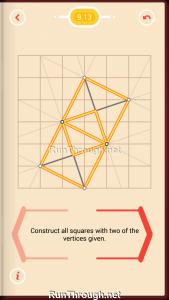 Pythagorea Walkthrough 9 Squares Level 13