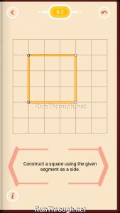 Pythagorea Walkthrough 9 Squares Level 2