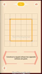 Pythagorea Walkthrough 9 Squares Level 4