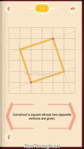 Pythagorea Walkthrough 9 Squares Level 5