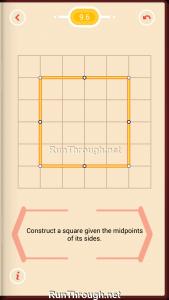 Pythagorea Walkthrough 9 Squares Level 6