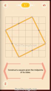 Pythagorea Walkthrough 9 Squares Level 7