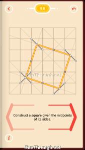 Pythagorea Walkthrough 9 Squares Level 8