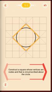 Pythagorea Walkthrough 10 Circles Level 5
