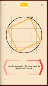 Pythagorea Walkthrough 10 Circles Level 6